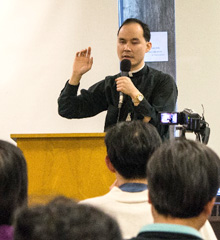 Fr. Francis Ching at the FLL Winter Retreat 2014